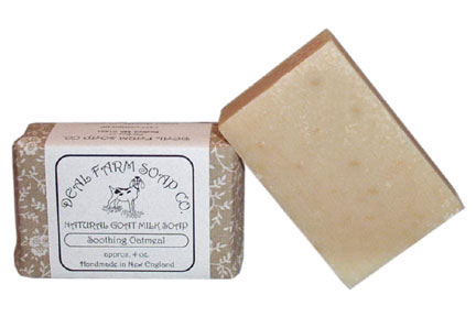 Soothing Oatmeal Goat Milk Soap